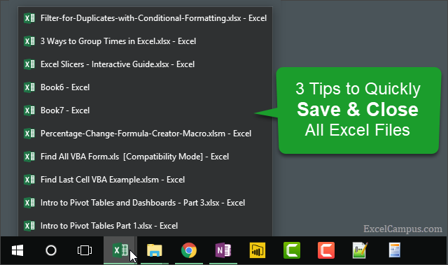 3 Tips to Save and Close All Files2