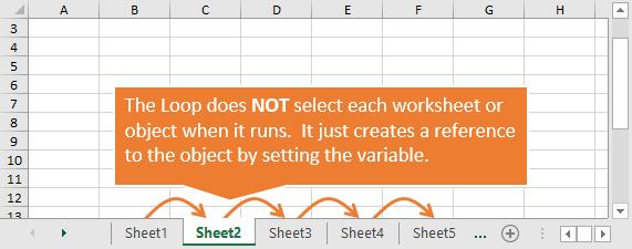 VBA For Each примеры