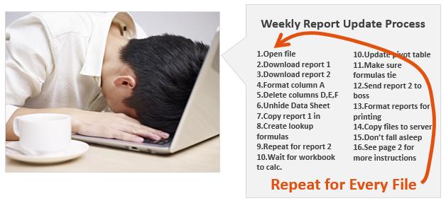 Repetitive Excel Tasks Get Boring - VBA Loop