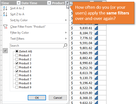 How Often Do You Apply Excel Filters